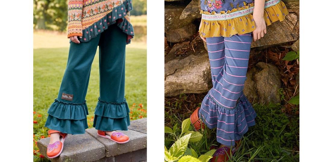Matilda Jane Girls Ruffle Pants