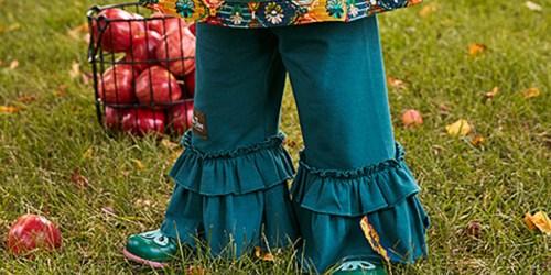 Matilda Jane Girls & Toddler Girls Ruffle Pants Only $11.99 (Regularly $36)