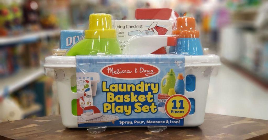melissa & doug laundry play set target