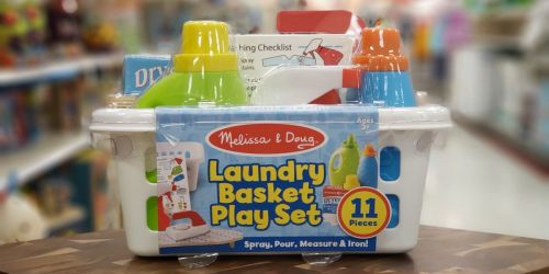 Target.com: Melissa & Doug Laundry Play Set Just $12.95 (Regularly $25)