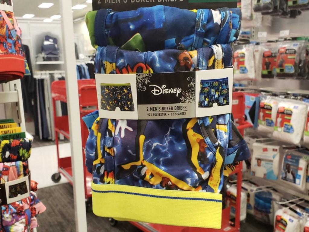 Men's Disney Powerline Eye to Eye Tour 2pk Boxer Briefs