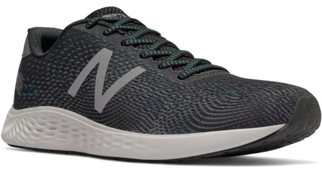 New Balance men's gray running shoes