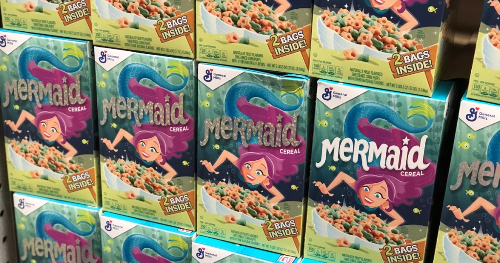 sams club big boxes of mermaid cereal