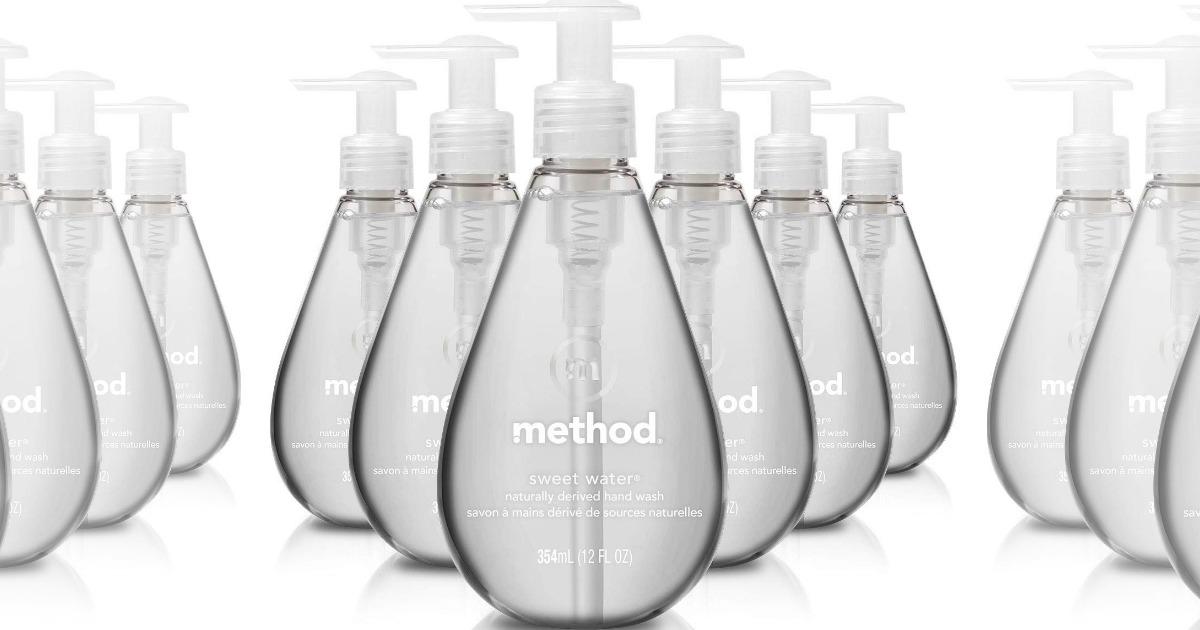 Method Sweet Water hand soap 6-pack