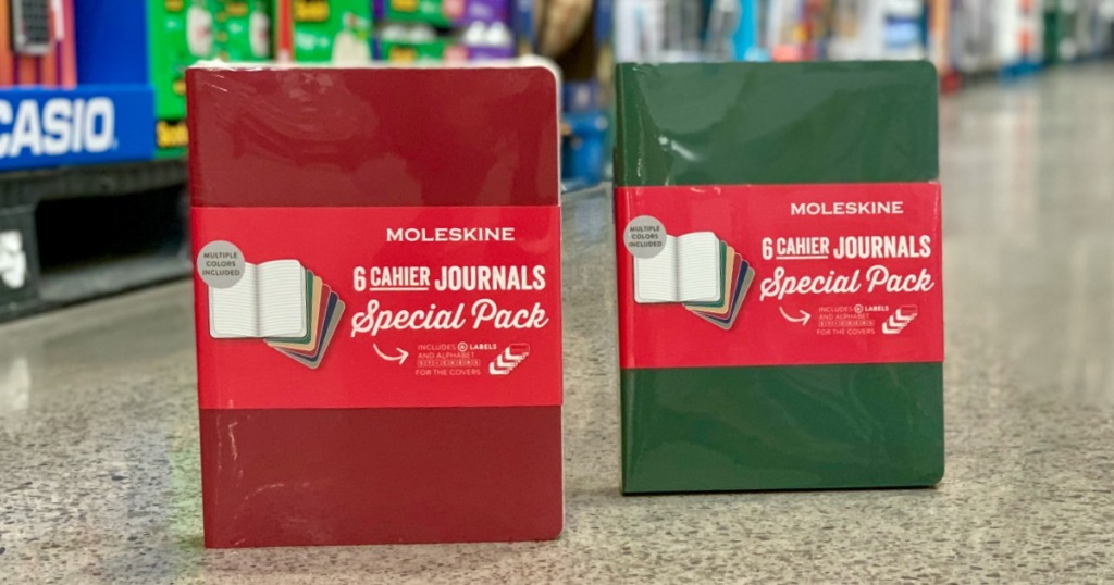 Moleskine journals at Costco
