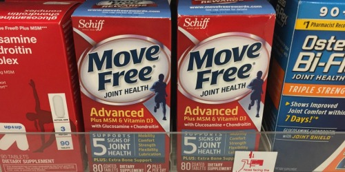 Amazon: Move Free Glucosamine Joint Supplement 80-Count Only $6.99 (Regularly $30)