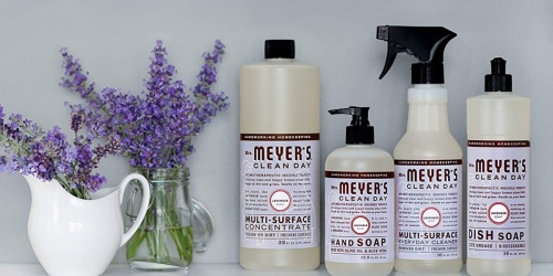 Mrs. Meyer's Multi-Surface Cleaner 3-Pack Only $7.96 Shipped (Just $2.65 Each) at Amazon