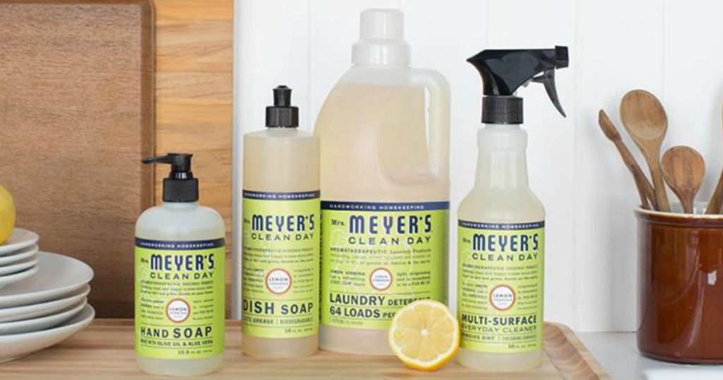 Mrs. Meyers Clean Day Lemon Verbena products