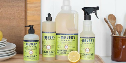 Amazon: Mrs. Meyer's Clean Day Multi-Surface Cleaner 3-Pack Only $7.88 Shipped (Just $2.62 Each)