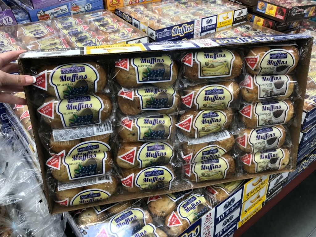 variety pack of muffins at Sam's Club