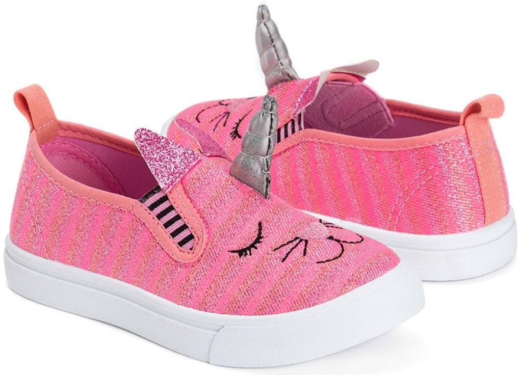 Muk Luks Pink Unikitten Slip-On Shoe