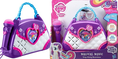 My Little Pony Boombox Karaoke System Only $8.49 at Best Buy (Regularly $20)