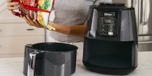 Amazon: Ninja 4-Quart Air Fryer Only $71.99 Shipped (Regularly $130) – Today Only