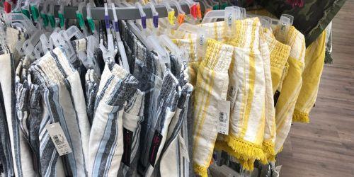 No Boundaries Linen Fringe Shorts ONLY $5.98 at Walmart