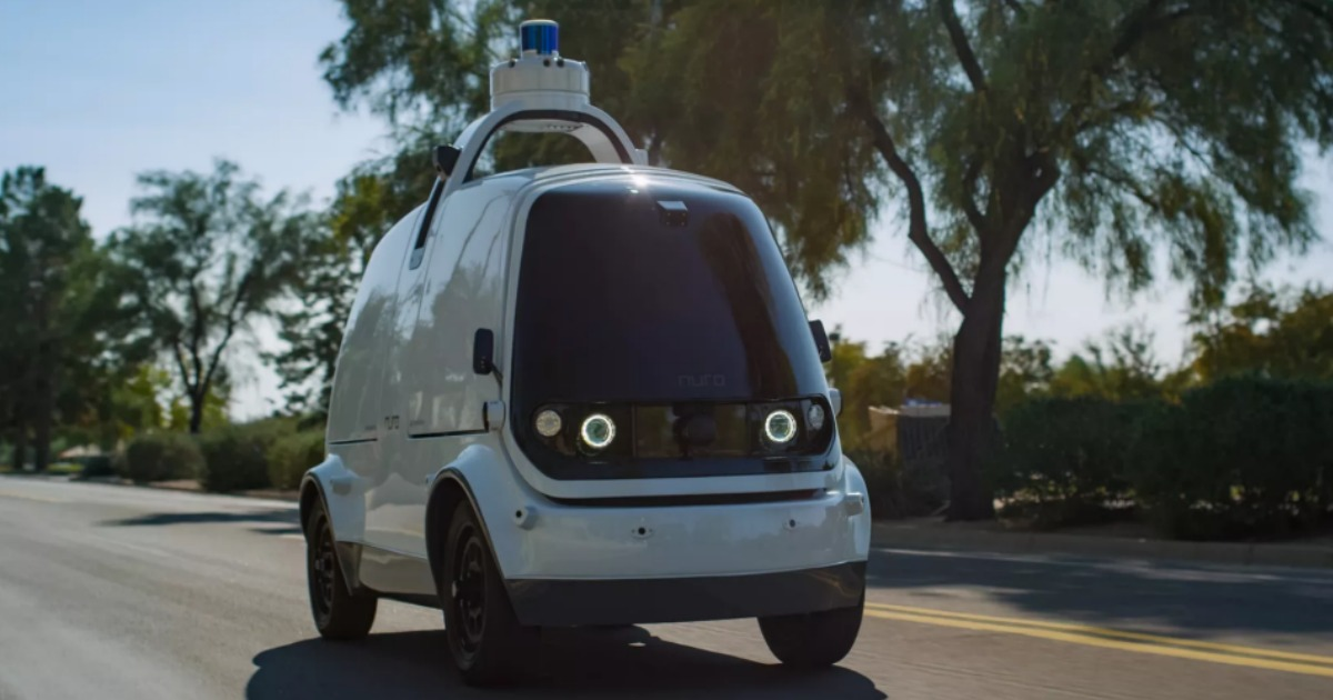 Nuro self-driving car