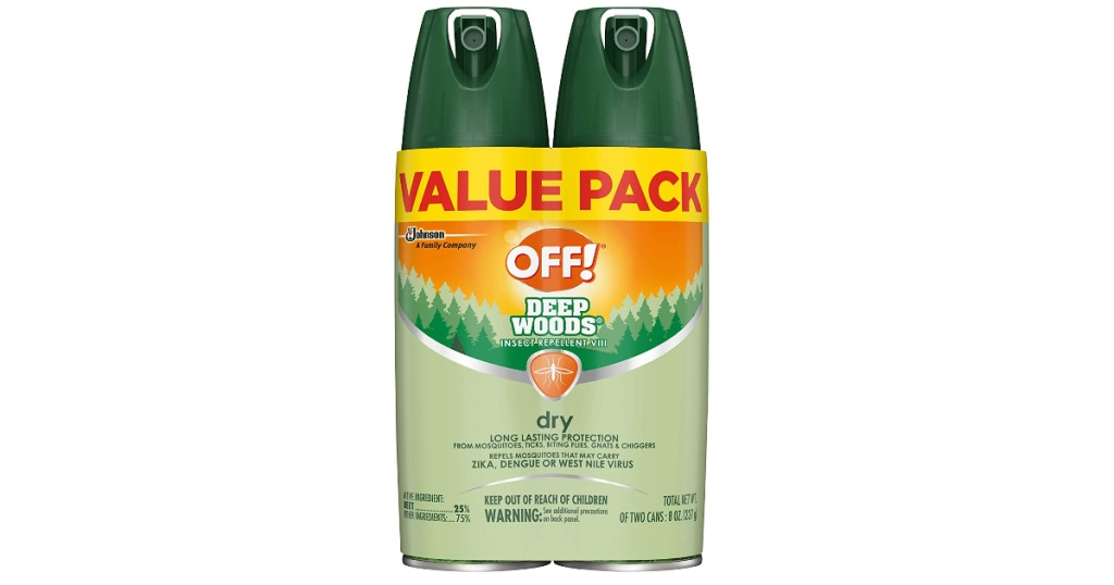 off! insect repellent 2 pack