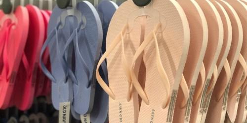 We're Sharing the Best Old Navy Flip Flop Sales