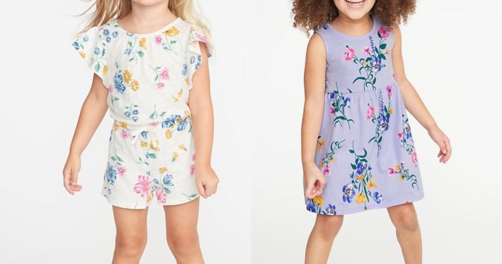 Old Navy Toddler Girls Dress Romper