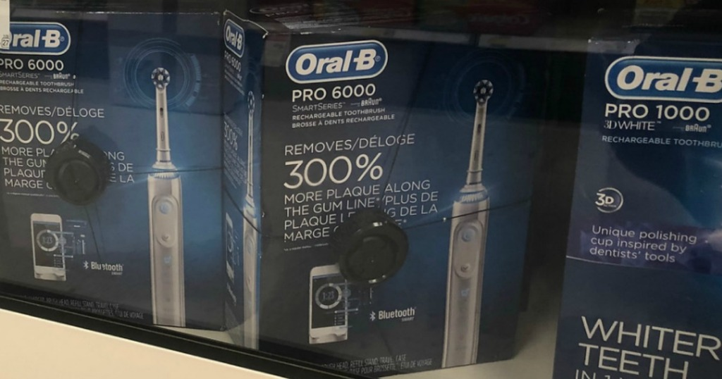 Oral B Pro 6000 Electric Toothbrush Only $19 94 Shipped After