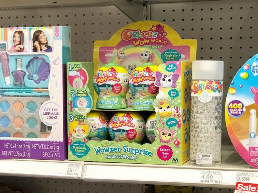 orbeez wow world balls on Target shelf