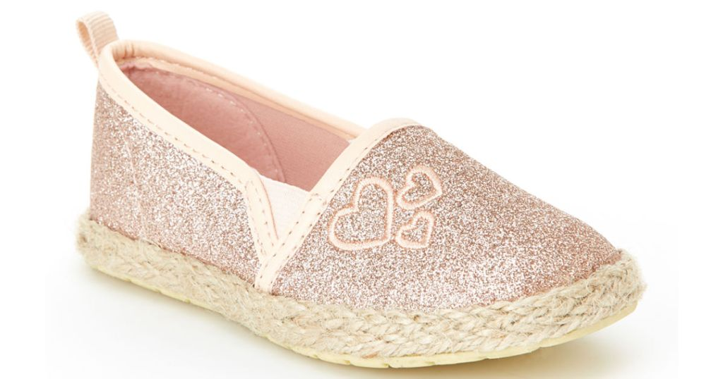 oshkosh girls glitter heart shoes zulily
