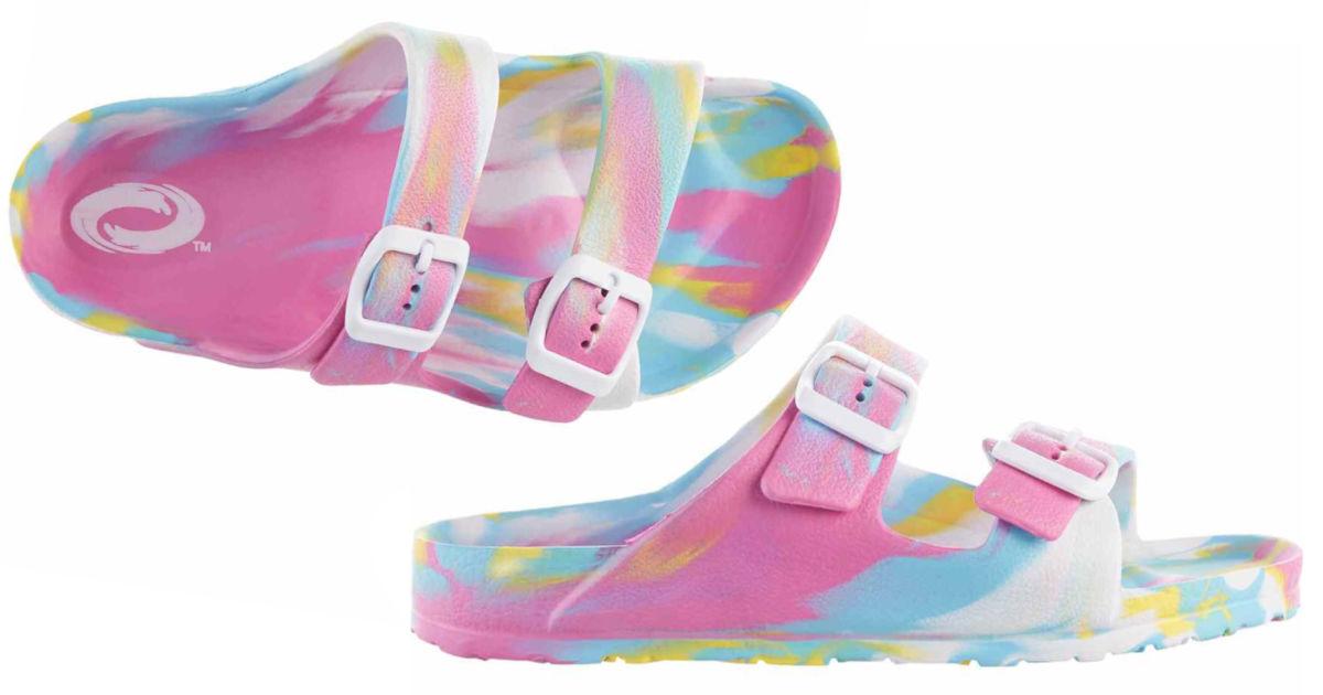 outrageous girls swirl sandals