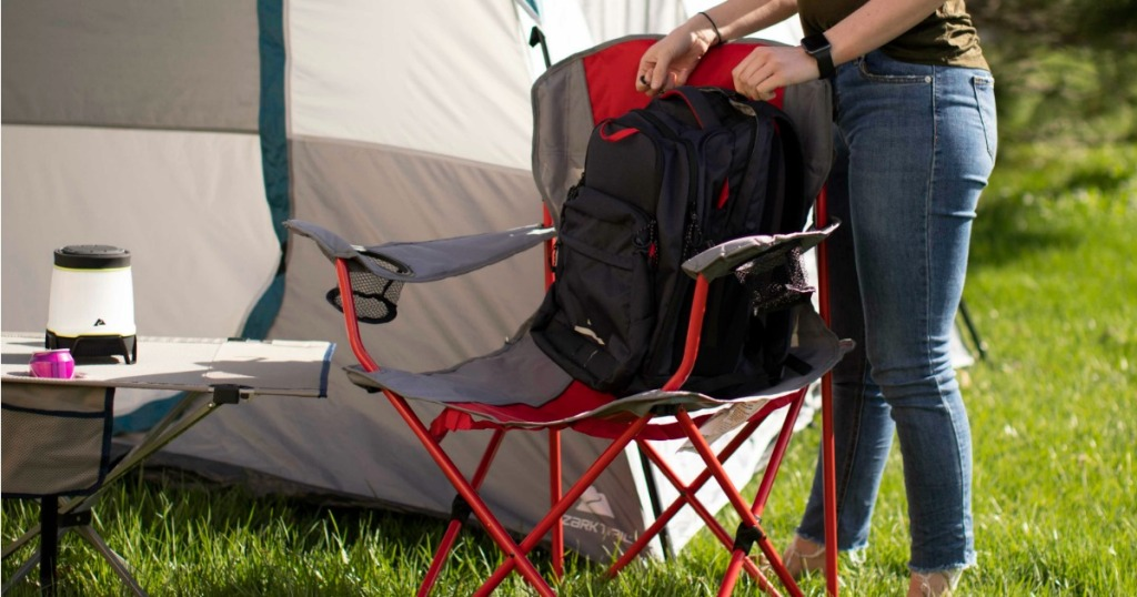 Magnificent Ozark Trail Camp Chairs 2 Pack Only 10 99 At Walmart Theyellowbook Wood Chair Design Ideas Theyellowbookinfo