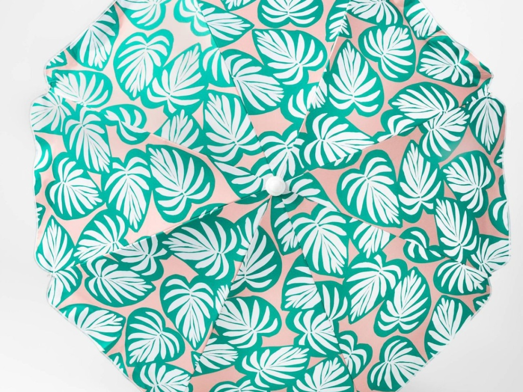 Palm Tree Patio Umbrella