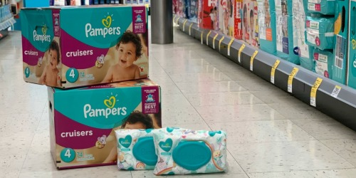 High Value $6/2 Pampers Diapers Digital Coupon at Walgreens