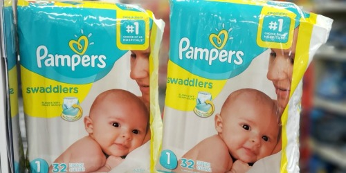 Pampers Diapers or Easy-Ups Only $2.49 After Cash Back at CVS