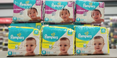 Save Over $60 on Pampers Diapers at Walgreens After Rebate