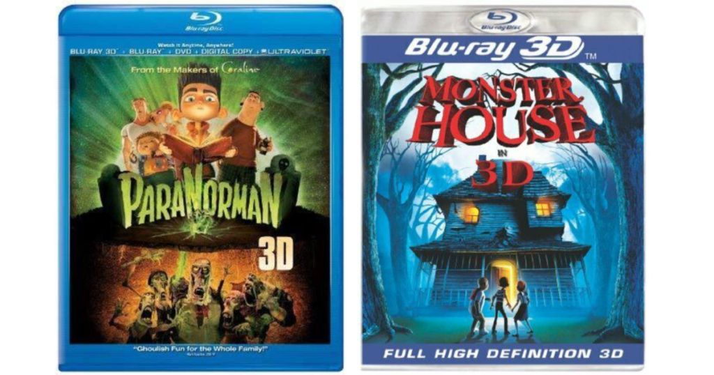 paranorman and monster house blu-rays