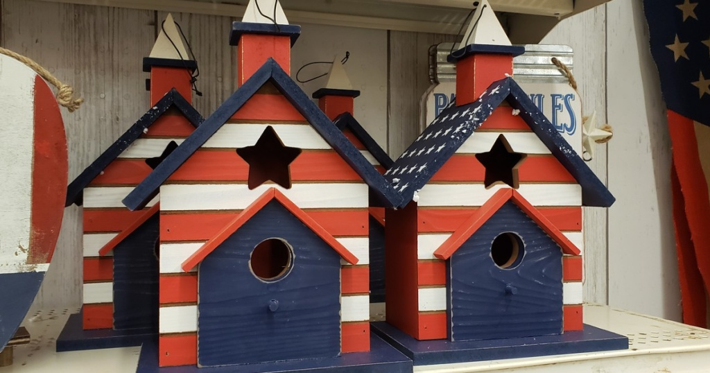 ashland patriotic birdhouse michaels