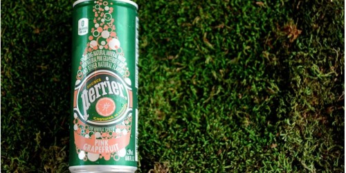 Perrier Flavored Mineral Water 30ct Slim Cans as Low as $11 Shipped at Amazon (Just 38¢ Per Can)