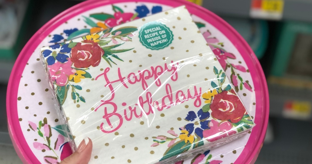 The Pioneer Woman Birthday Party Supplies As Low 198 At Walmart