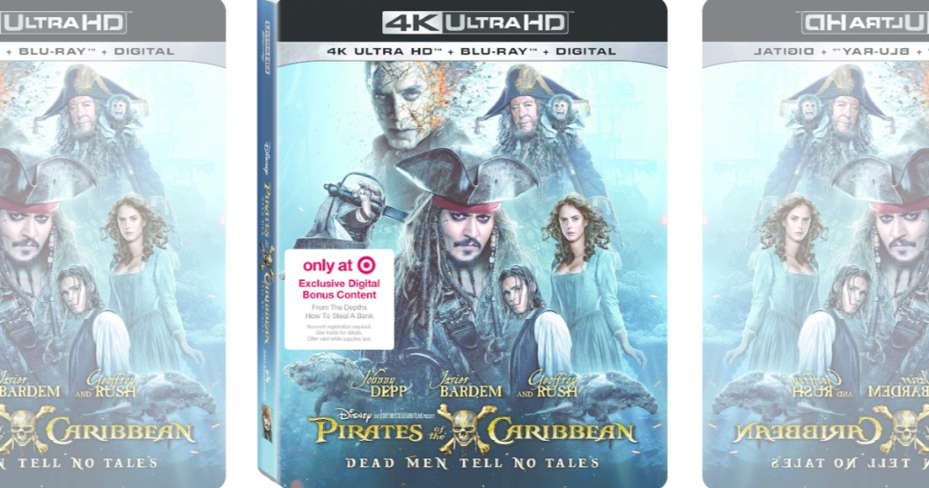 Pirates Of The Caribbean: Dead Men Tell No Tales Target Exclusive