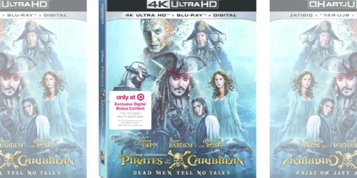 Disney's Pirates Of The Caribbean: Dead Men Tell No Tales 4K Blu-ray Only $11.99 at Target