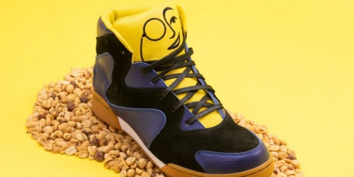 People are Going Nuts for These Mr. Peanut High Top Sneakers