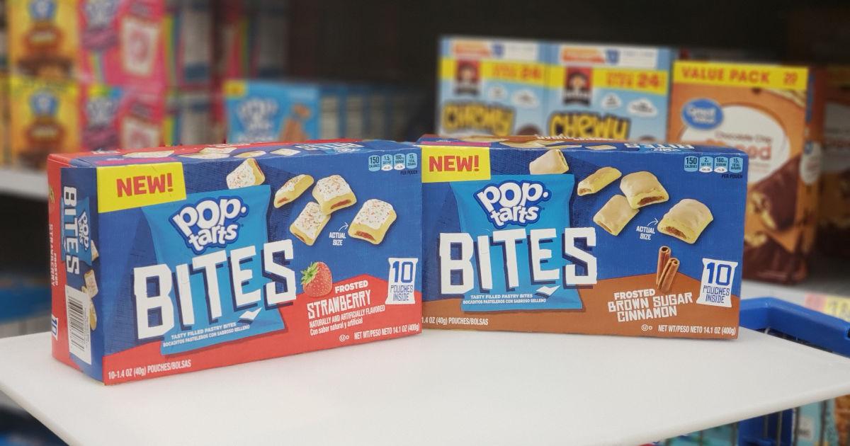 picture relating to Pop Tarts Coupons Printable known as Refreshing $0.50/1 Kelloggs Pop-Tarts Bites Printable Coupon
