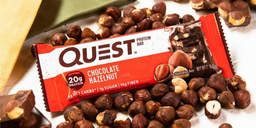 Quest Protein Bars 12-Pack Only $15.59 Shipped at Amazon