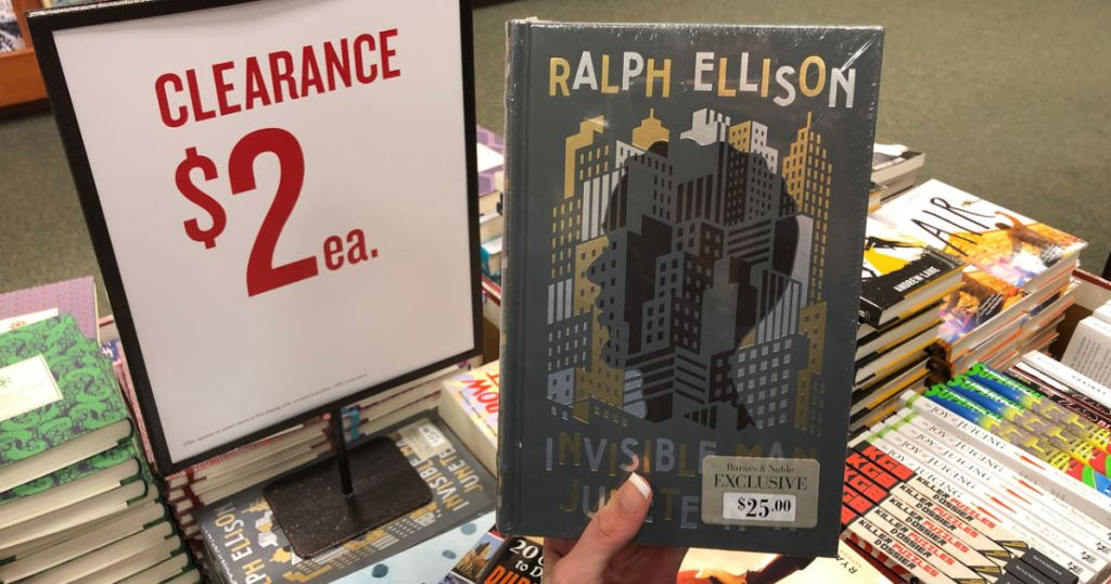 ralph ellison invisible man book at barnes and noble