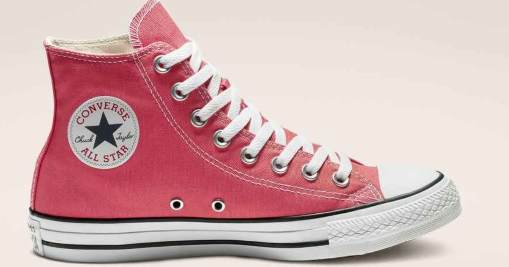 Red Chuck Taylor All Star Seasonal Color High Top