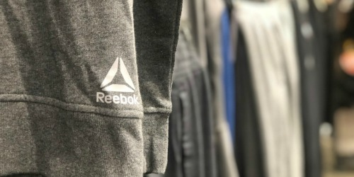 Up to 75% Off Reebok Apparel & Accessories + Free Shipping | Tees from $8.98, Bags from $11.98 & More