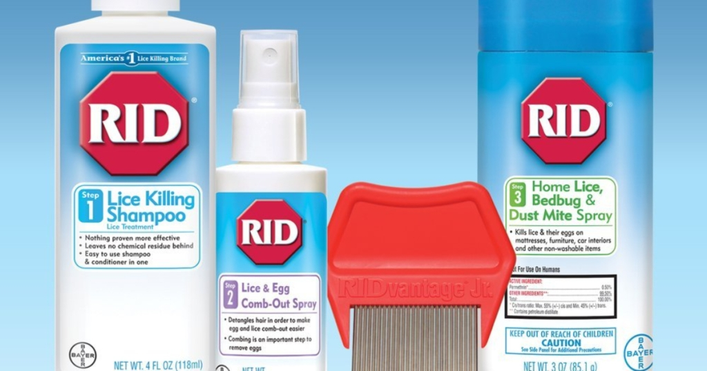 Ride Head Lice Treatment Complete Kit