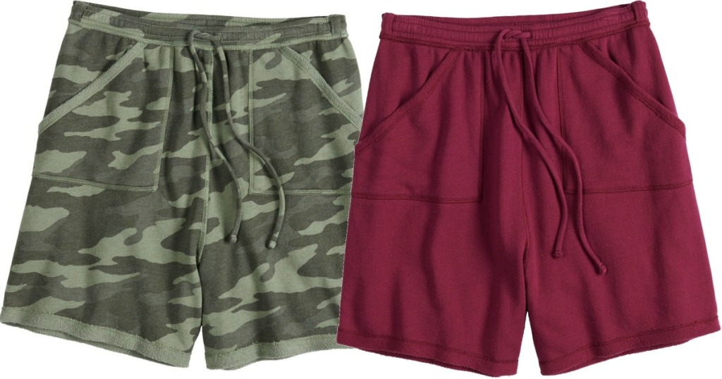 SO Junior Shorts in camp and red