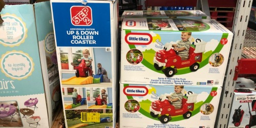 Step2 Up & Down Roller Coaster Only $74.98 at Sam's Club (Awesome Reviews) + More Deals