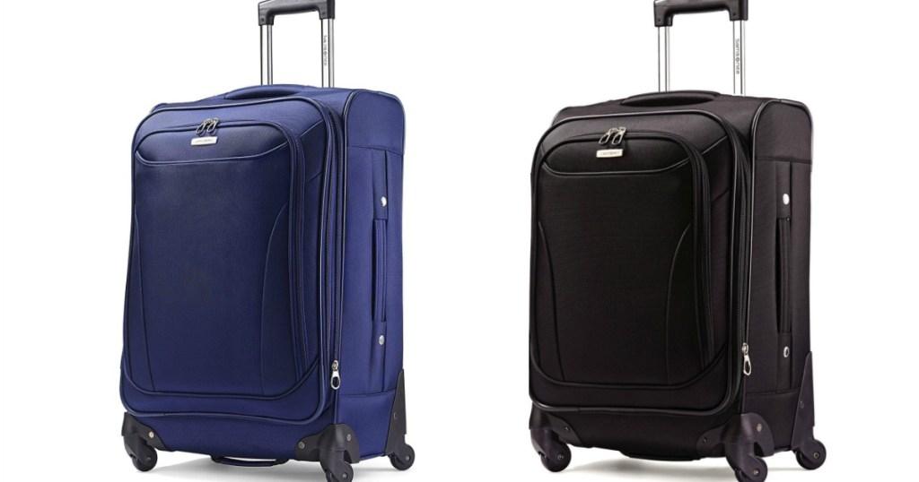 Samsonite Bartlett Luggage in black and blue