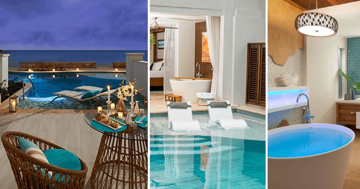 sandals resort rooms