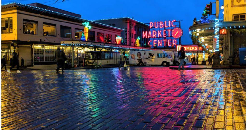 Seattle Washington Public Market Center