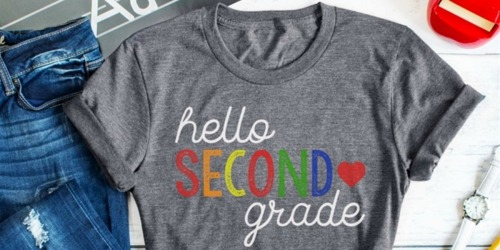 Calling all Teachers! Wear these Adorable Tees on First Day of School